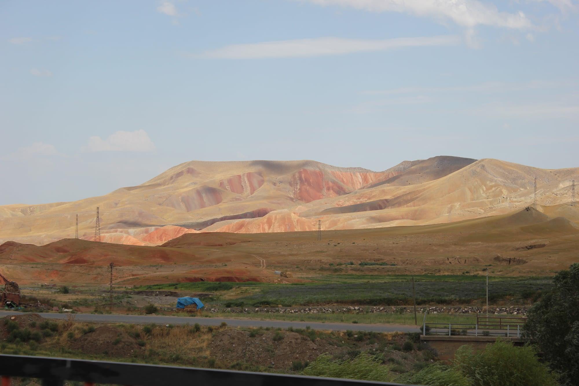 Арменското плато.