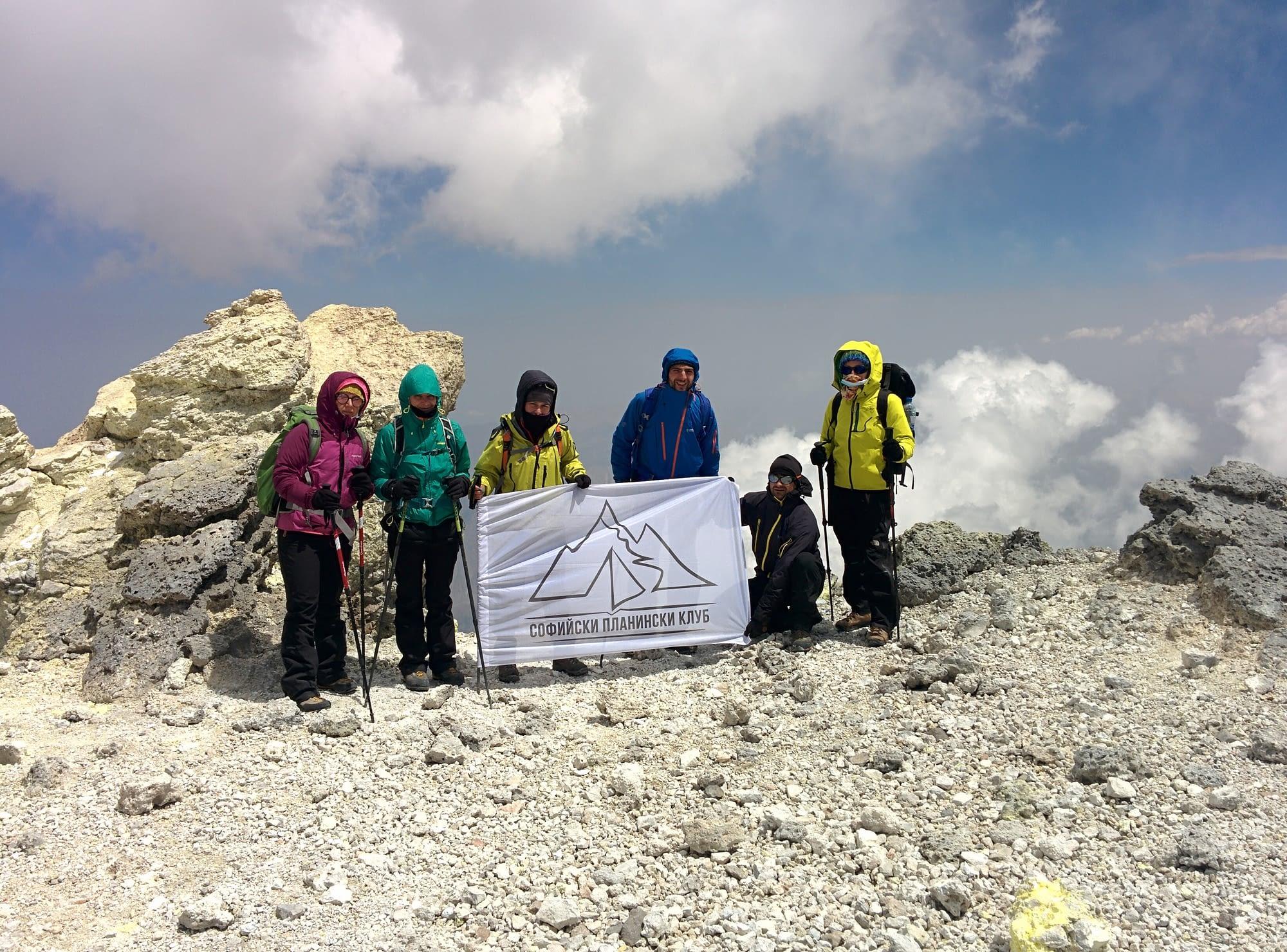 Връх Дамаванд - 5610 м ( 5671м.)